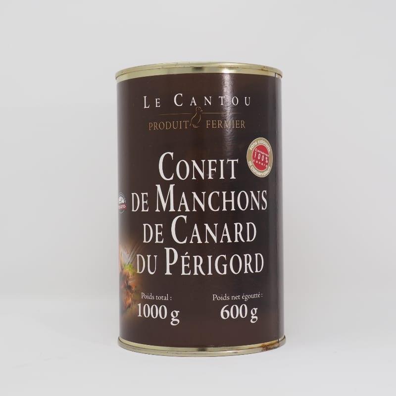Confit de manchons de canard du Périgord – 1000g