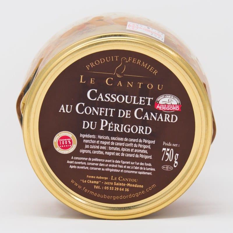 Cassoulet au canard – 750g