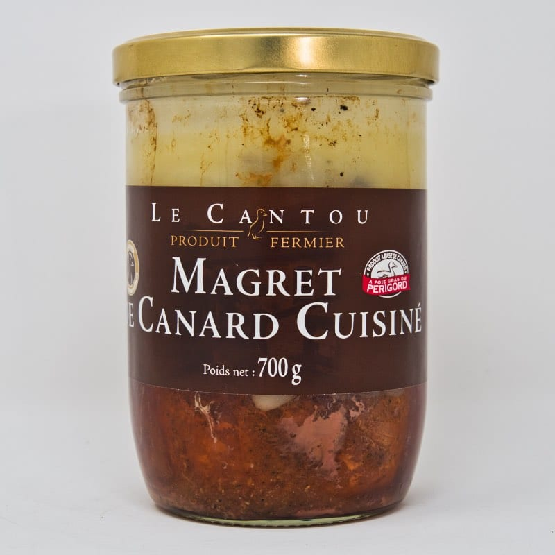 Magret de canard cuisiné – 700g