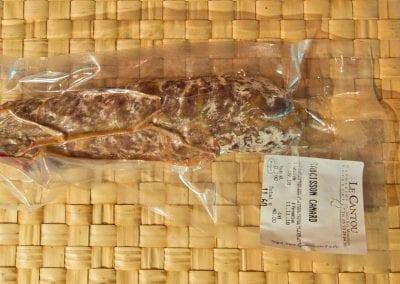 Saucisson 100% canard du Périgord