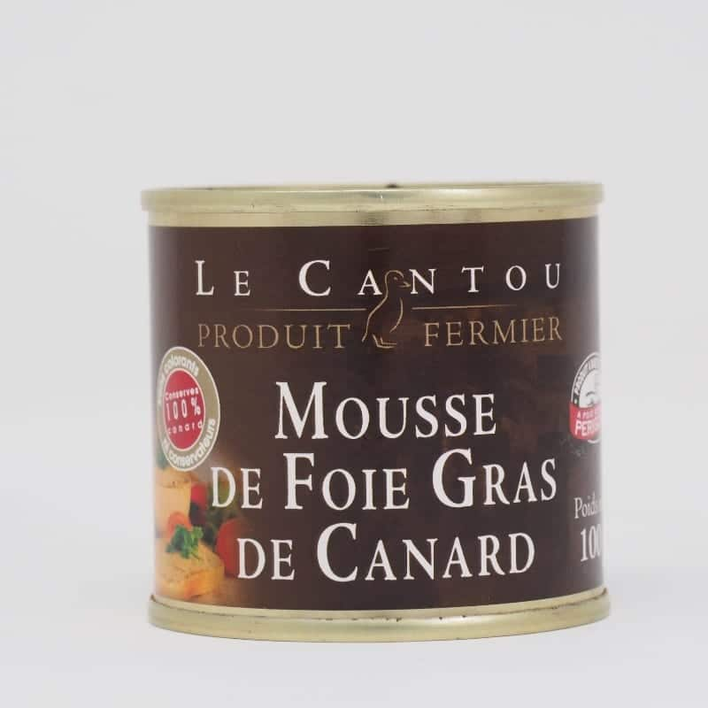 Mousse de foie gras de canard – 100g